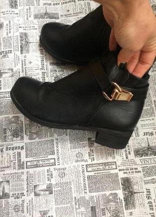 Стильные ботинки 38 р esmara4