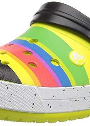 Кроксы crocs crocband color-burst clog раз.m10 - 28см