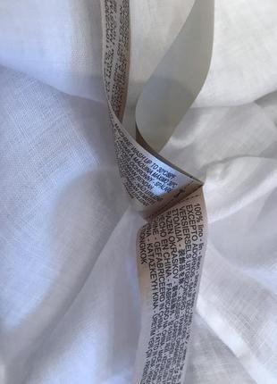 Белая блуза  рубашка massimo dutti2