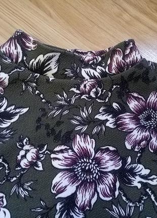 Трендовое платье в цветочный принт2