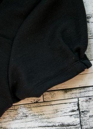 Черное трикотажное платье next3