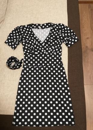 Платье горох2