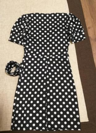 Платье горох3