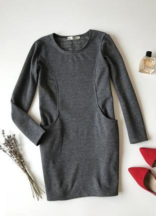 Тёплое осенне-зимнее платье