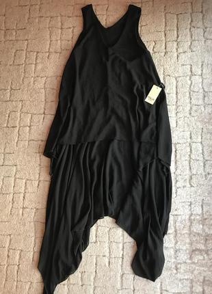 Асимметричное платье туника италия1