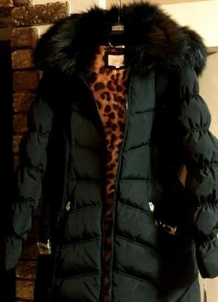 Новая американская зимняя женская куртка пуховик laundry by shelli segal. скидка!2