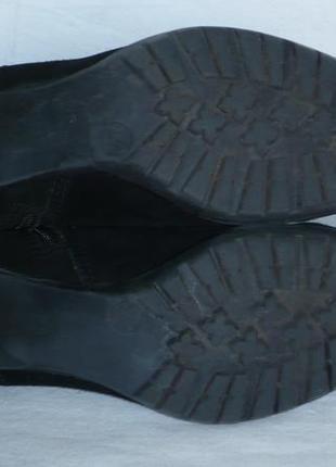 Jana тёплые мягкие удобные полусапожки сапоги ботинки натуральная замша германия5