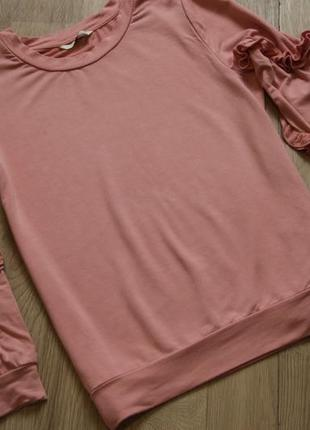 Стильная нежно розовая кофточка р м1