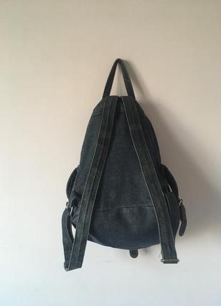 Рюкзак джинсовый topshop moto4