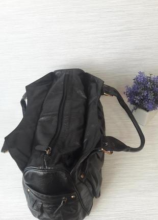 Кожаная женская сумка tommy& kate4