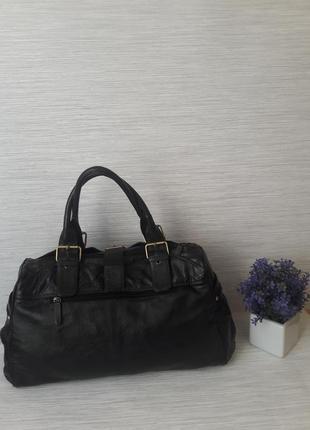 Кожаная женская сумка tommy& kate2