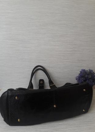 Кожаная женская сумка tommy& kate3