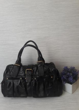 Кожаная женская сумка tommy& kate1