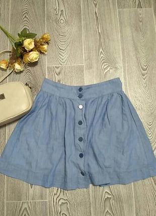 Модная юбка на погувицах1