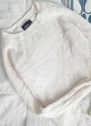 Шерстяная удлиненная кофта разрезами белая біла туника платье белое шерстяное сукня2