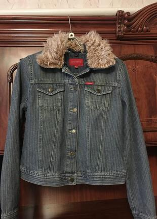 Куртка джинсовая1