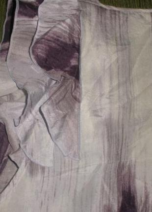 Женская блуза шелковая кофта большого размера 100% шелк banana republic /р l5