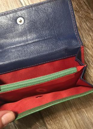Кожаный классный кошелек3