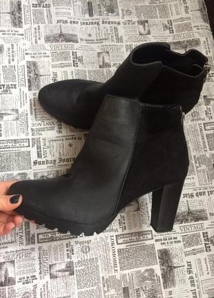 Крутые ботинки 38 р esmara4