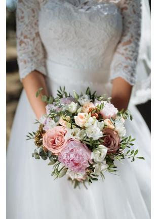 Свадебное платье, платье айвори2