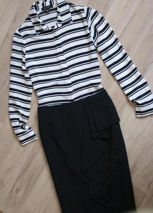 Шикарный стильный комплект юбка и блуза3