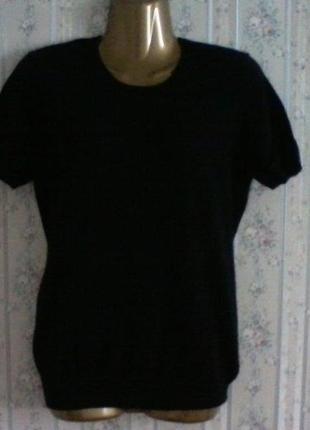 Кашемировый свитер с коротким рукавом, разм. 461