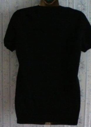 Кашемировый свитер с коротким рукавом, разм. 463