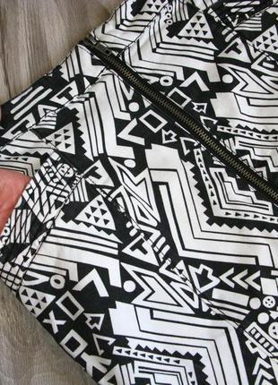 Коттоновая юбка divided & h&m размер eur 382