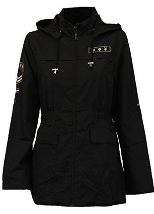 Легенькая парка куртка ветровка дождевик плащ brave soul в стиле милитари1