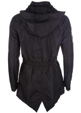 Легенькая парка куртка ветровка дождевик плащ brave soul в стиле милитари3