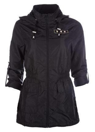 Легенькая парка куртка ветровка дождевик плащ brave soul в стиле милитари2