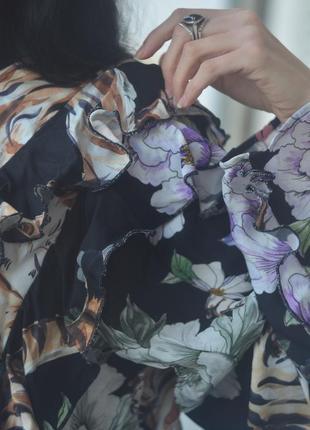 Рубашка с рюшами3