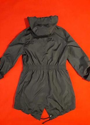 Легенькая парка куртка ветровка дождевик плащ brave soul в стиле милитари5