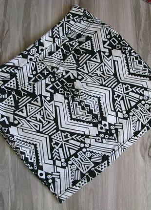 Коттоновая юбка divided & h&m размер eur 384