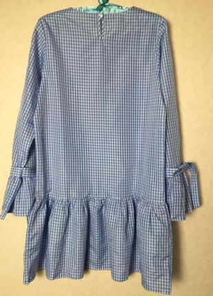 Чудесное платье с оборкой3