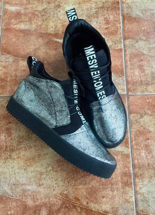 Новые молодежные ботинки кроссовки4