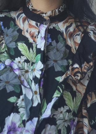Рубашка с рюшами2