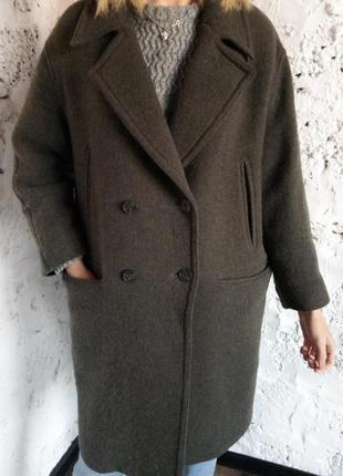 Актуальное пальто бойфренд