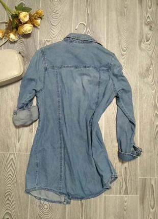 Джинсовая рубашка2