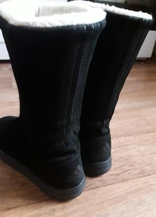 Замшевые сапоги/ угги/ валенки adidas 24- 24.53