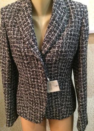 Теплый стильный пиджак классика новый1
