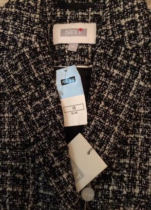 Теплый стильный пиджак классика новый3