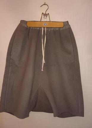 Rick owens кашемировые юбка брюки .