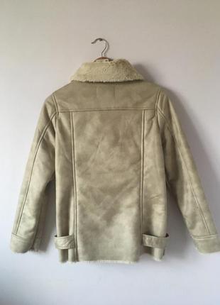 Новая куртка-дубленка stradivarius4