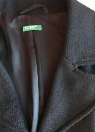 Пальто шерстяное италия benetton5
