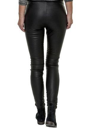 Кожаные штаны брюки леггинсы экокожа2