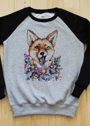 Світшот лисиця1