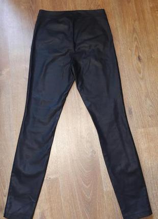 Кожаные штаны брюки леггинсы экокожа4