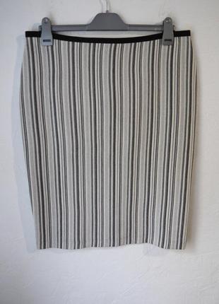 Стрейчевая трикотажная юбка1