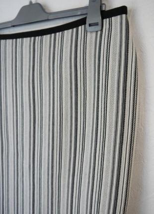 Стрейчевая трикотажная юбка2